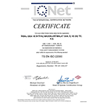 IQNet The İnternational Certification Network Certificate