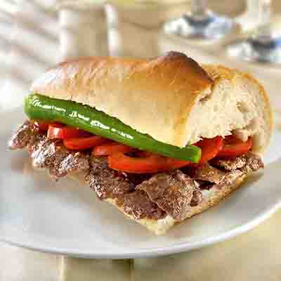 Doner Kebab with Bread